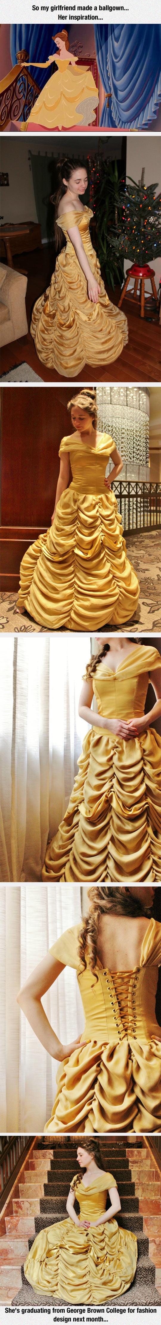 Amazing Dress Inspired By A Disney Princess