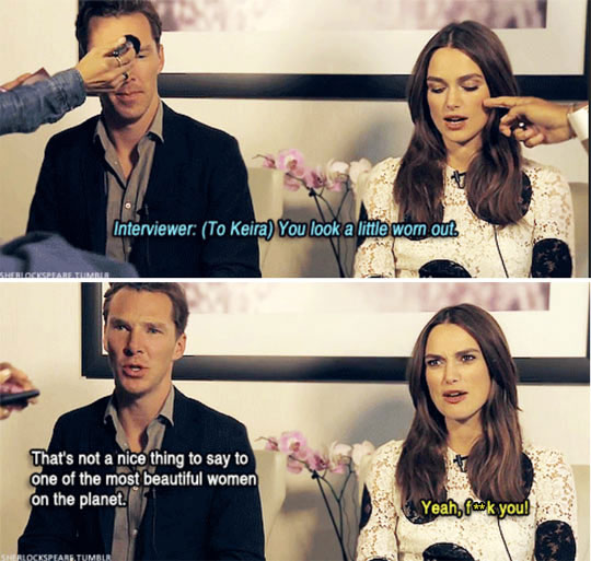 Cumberbatch To The Rescue