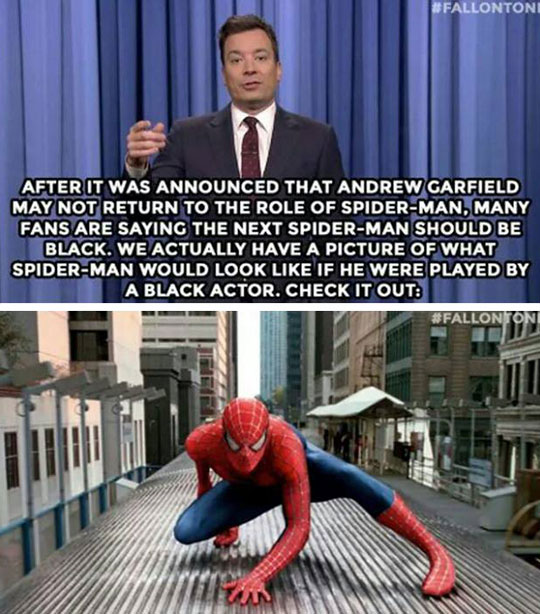Jimmy Has News About The New Spiderman