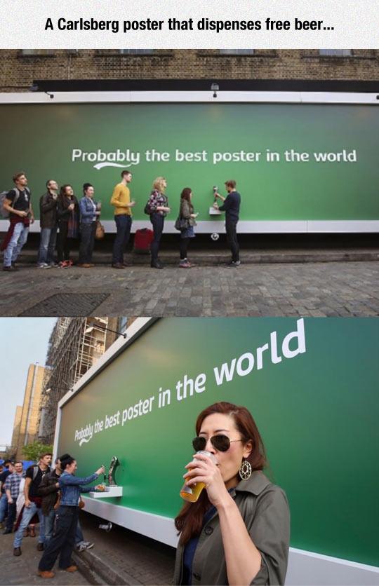 funny-Carlsberg-free-beer-poster