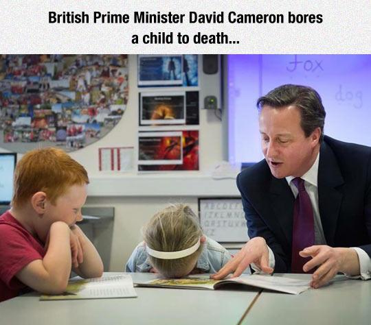 David Cameron Please Stop