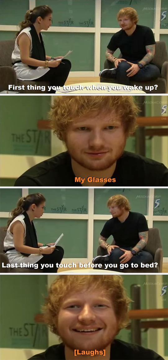 One Of The Many Reasons I Like Ed Sheeran