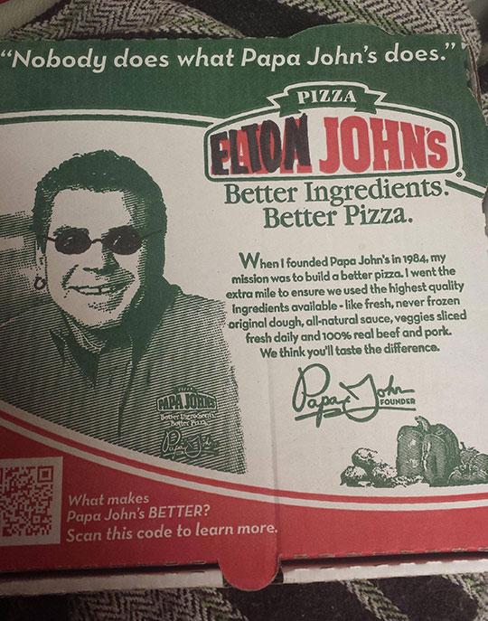 Fabulous Ingredients, Fabulous Pizza