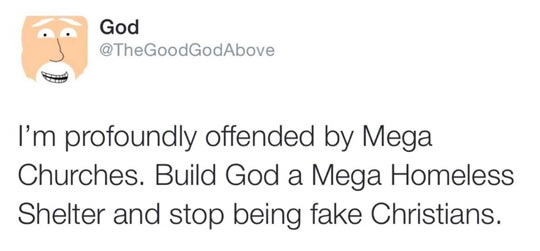 God Is In Twitter