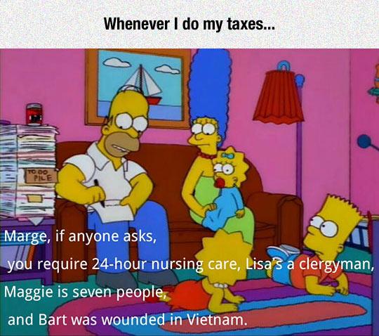 Doing My Taxes