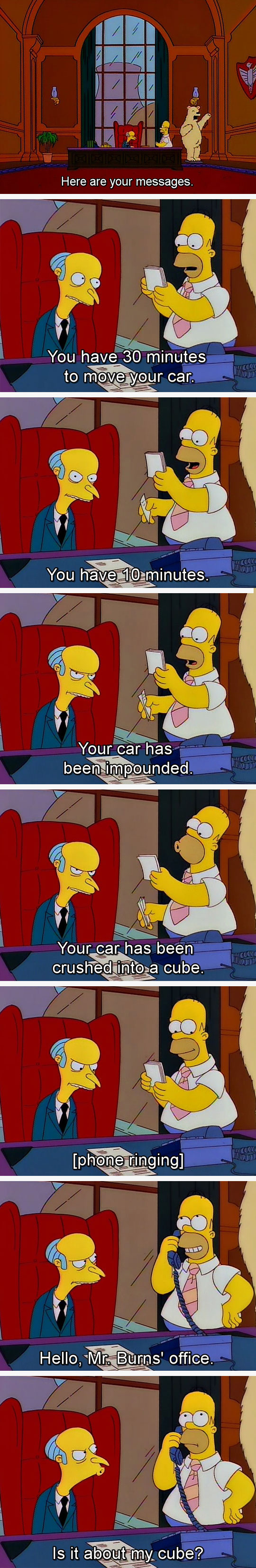 funny-Homer-Simpsons-Burns-messages-car