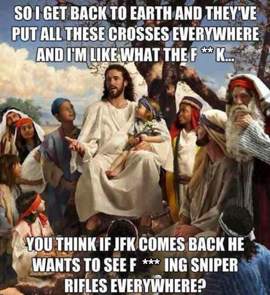 funny-Jesus-crosses-speaking-JFK
