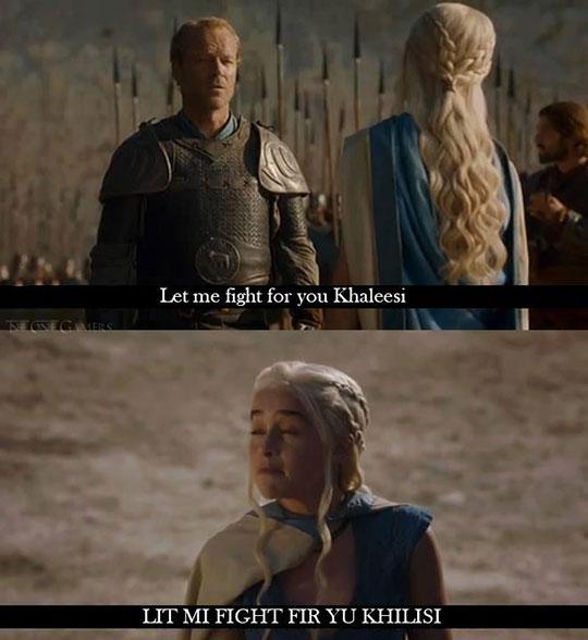 funny-Khaleesi-mocking-Jorah-Mormont-GoT