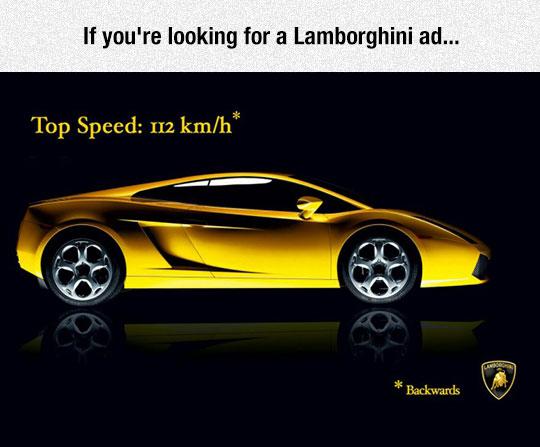 Probably The Best Lamborghini Ad