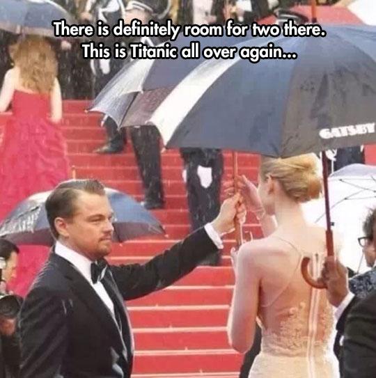 Seems Like Leo Loves To Play The Hero