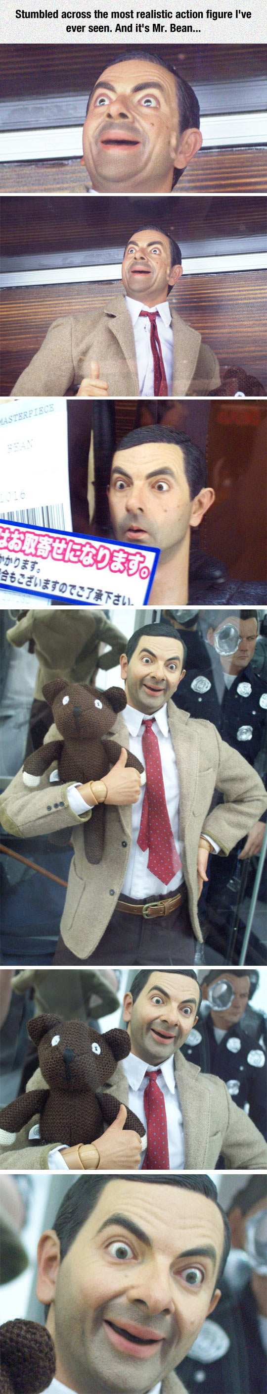 The Most Realistic Action Figure