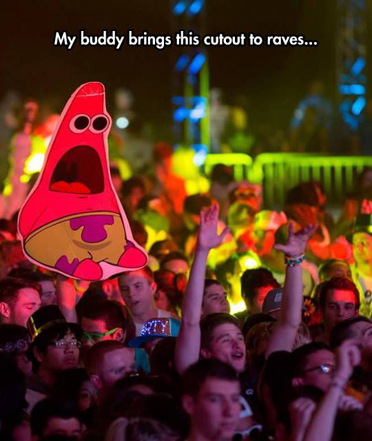 Patrick Helps To Illustrate The Feeling