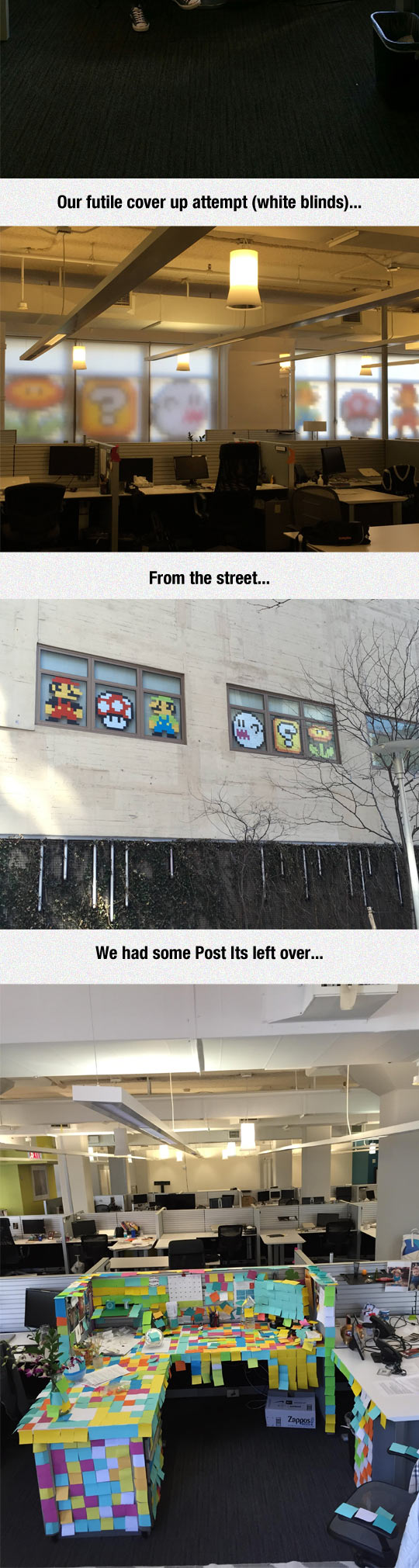 funny-Post-It-Mario-art-work-office-street-view