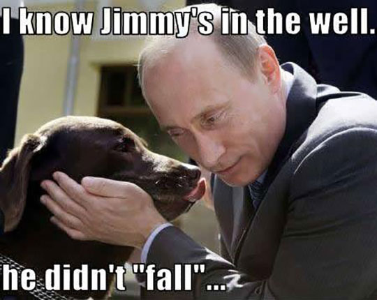 Putin Is A Very Scary Guy