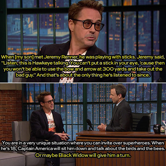 Perks Of Being Related To An Avenger