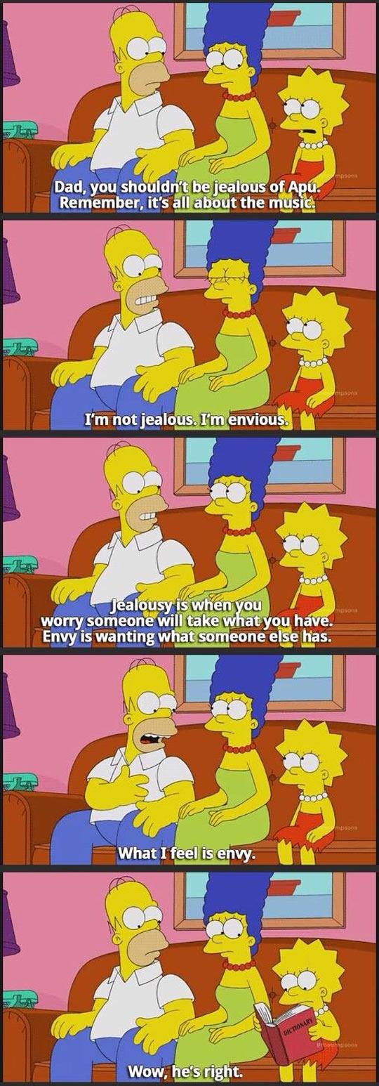 funny-Simpsons-Lisa-Homer-conversation