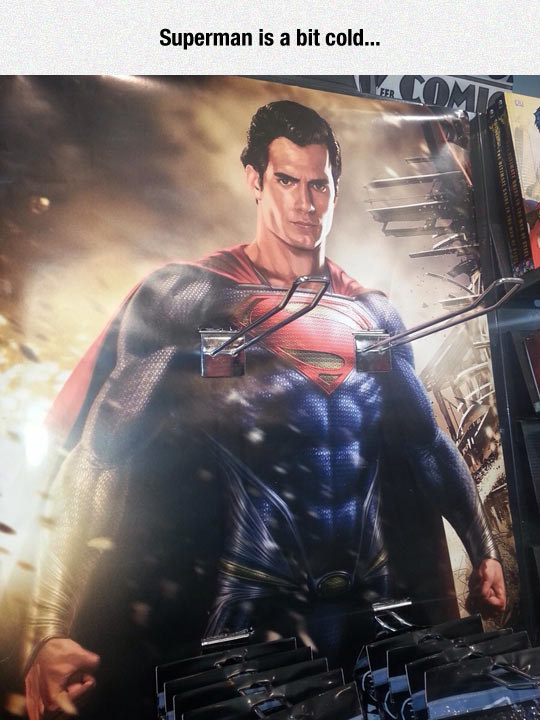 funny-Superman-rack-store-poster