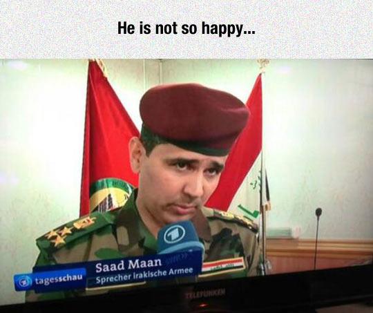 Not A Happy Man