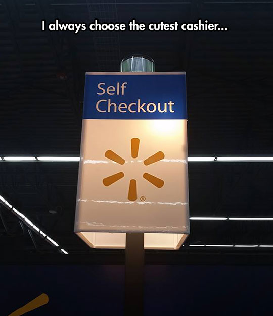 The Cutest Cashier