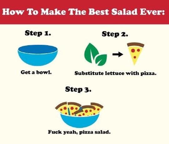 funny-bowl-pizza-slice-salad-lettuce