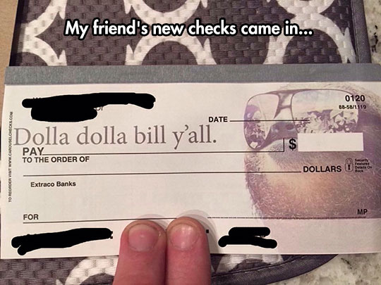 Checks Made The Right Way
