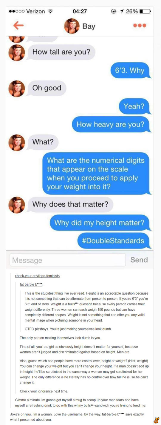 funny-conversation-weight-height-double-standards