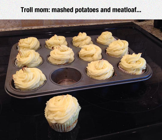 funny-cupcake-oven-potatoes-meatloaf
