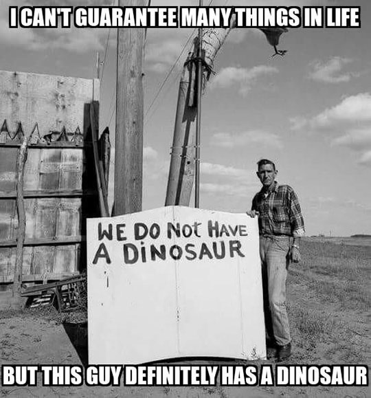 funny-dinosaur-sign-black-white-cage