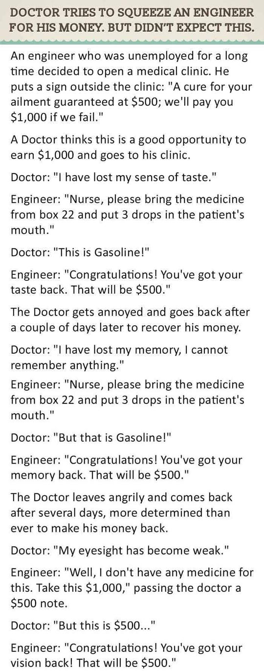 funny-doctor-engineer-extorting-story
