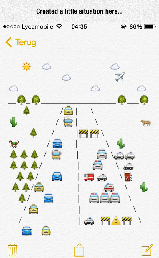 funny-emoji-drawing-road-situation