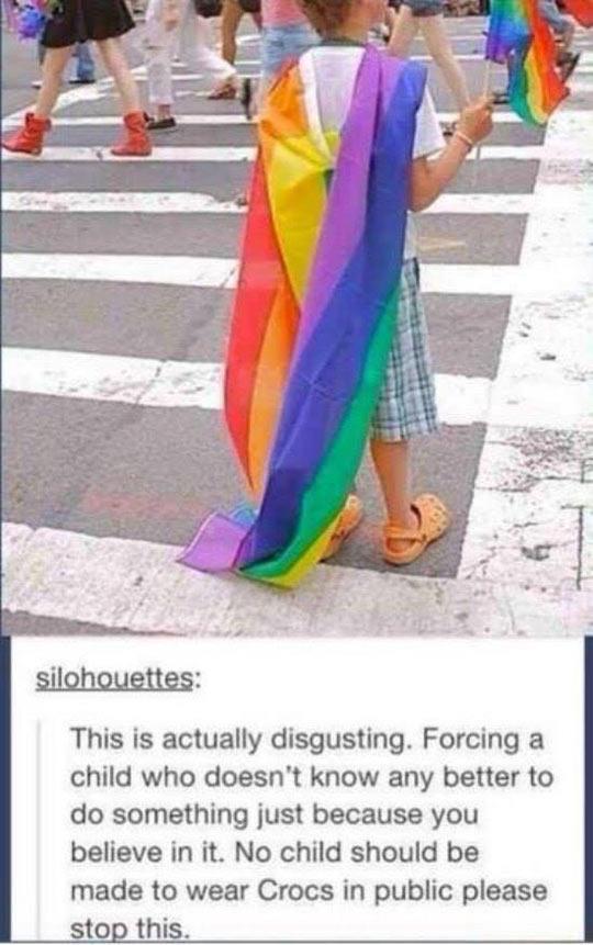 funny-flag-rainbow-protest-street-Crocs