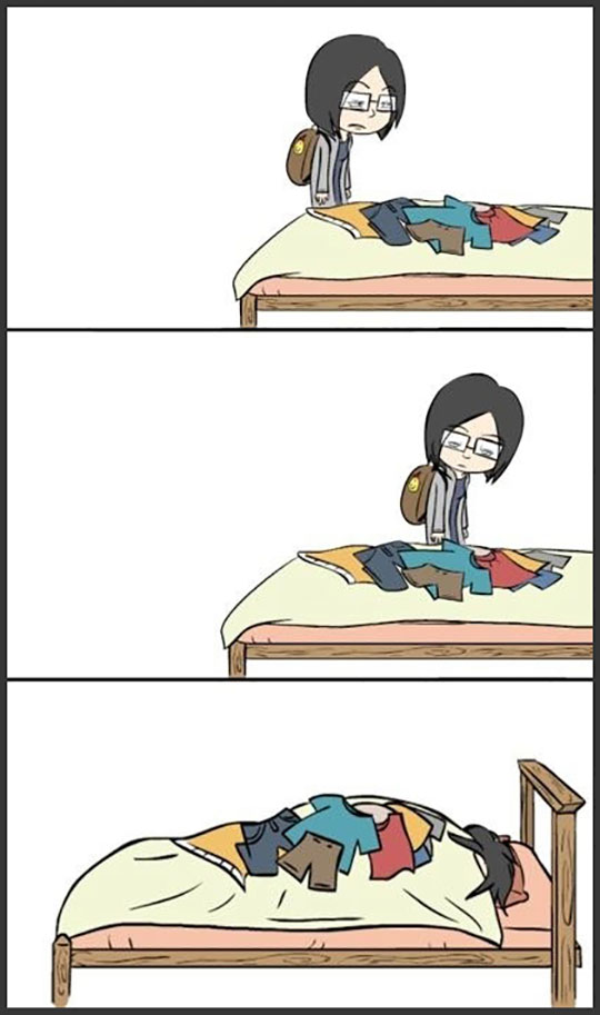 funny-girl-webcomic-clothes-bed