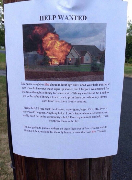 funny-help-wanted-fire-house-sign