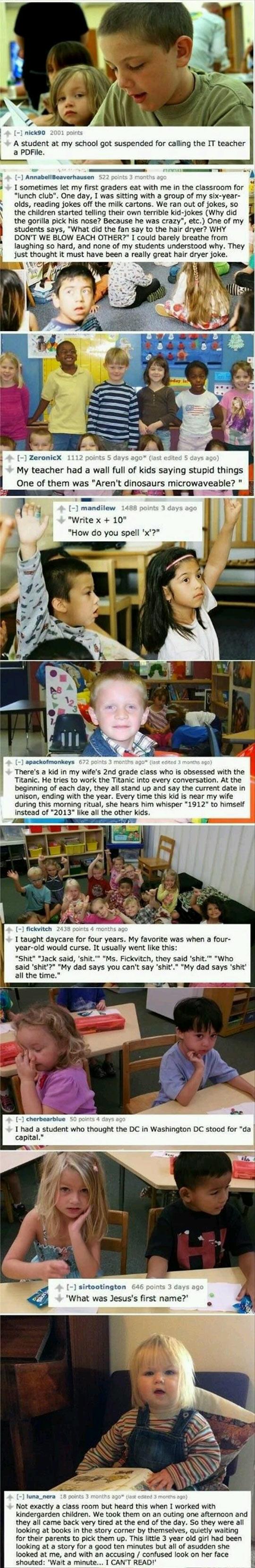 funny-kids-saying-things-teachers-school