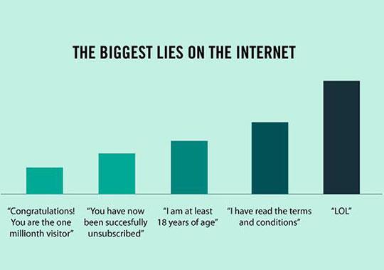 Internet Lies