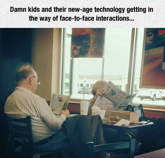 Kids And Their New Technology