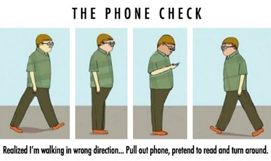 funny-phone-check-cartoon-walking-direction
