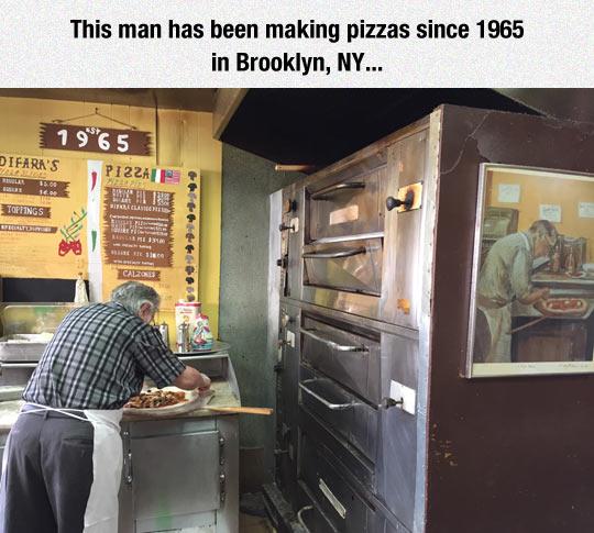 DiFaras Pizza In Midwood Brooklyn