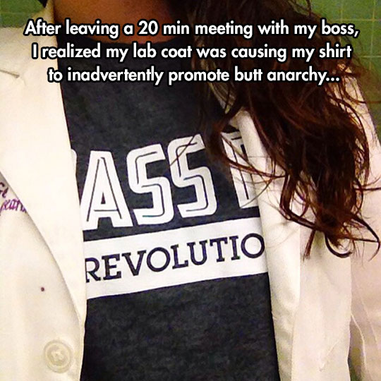 funny-shirt-lab-coat-message