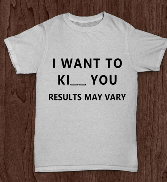 My Shirt, Your Choice