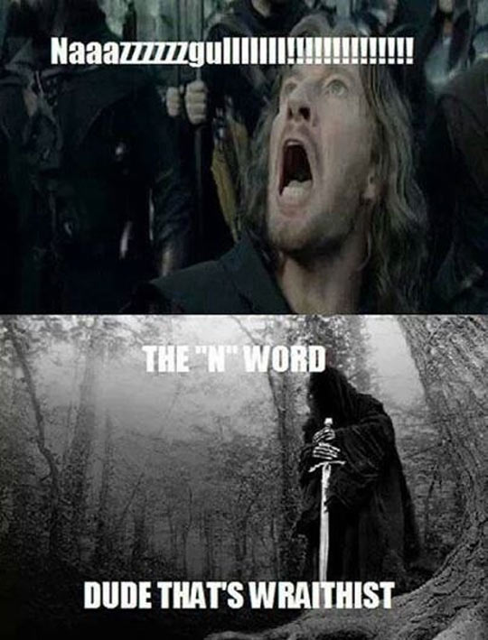 Very Impolite For Most Of Middle Earth