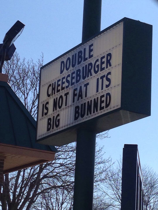 Truth About Double Cheeseburgers