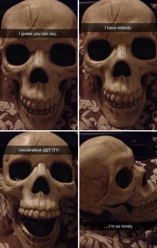 Skeleton Humor
