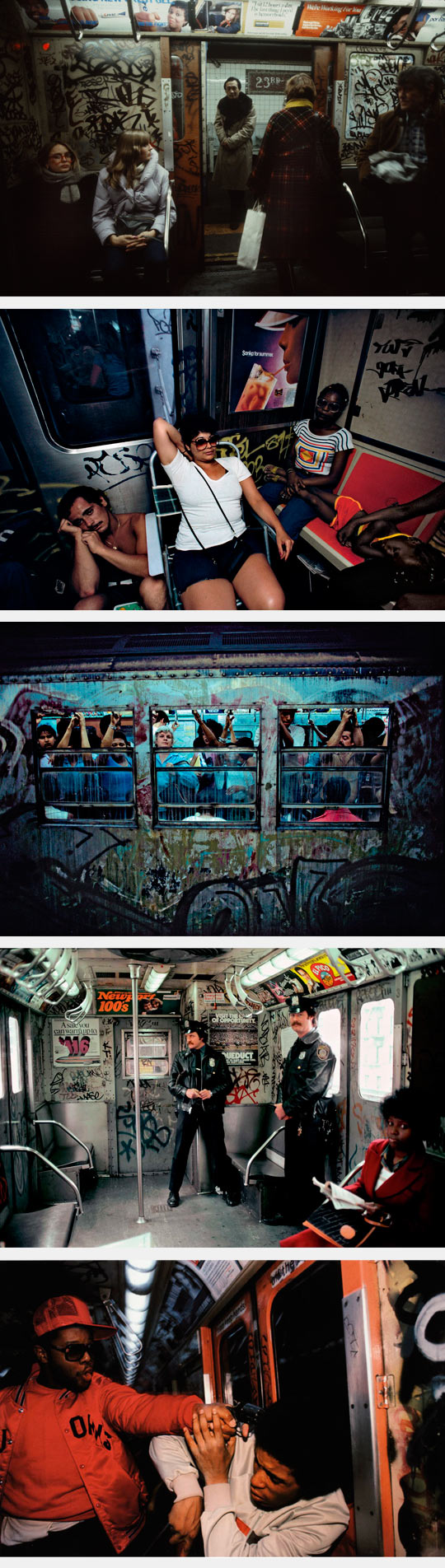 The New York City Subway In The 80