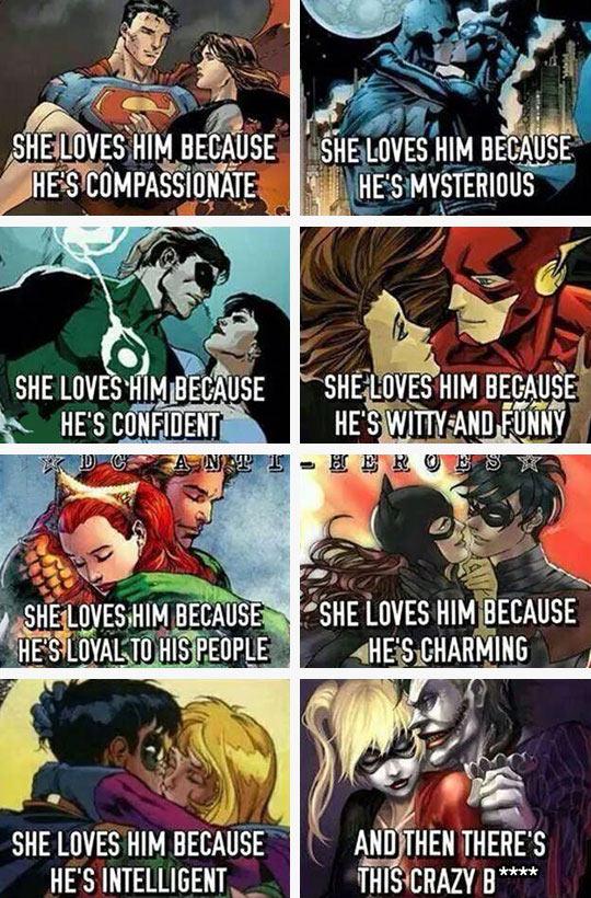 funny-superhero-love-Superman-Batman-women
