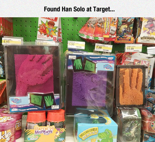 Poor Han Solo Still Trapped