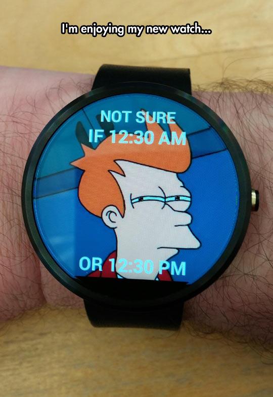 funny-watch-wondering-Futurama-Fry-meme