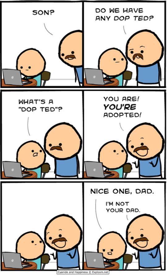 When Dad Jokes Go Too Far