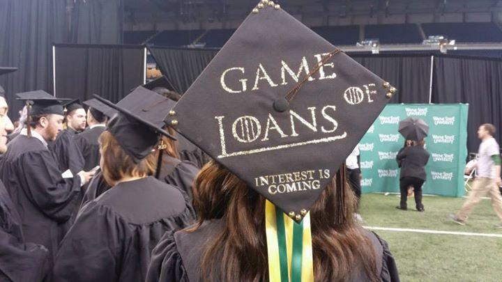 A graduate always pays their debts....