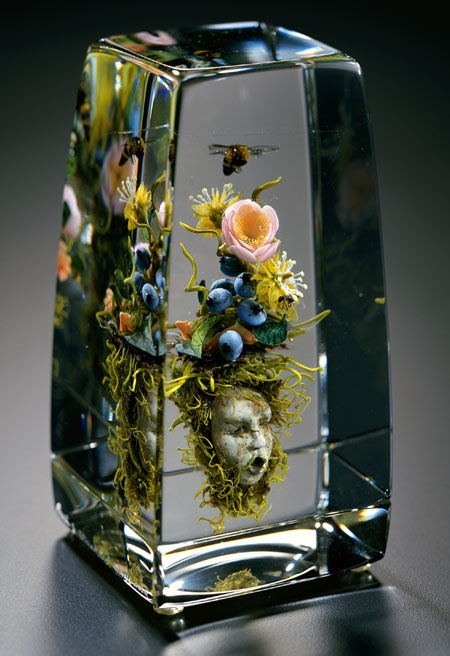 Another piece of glass by the guy who made the awesome bee marble